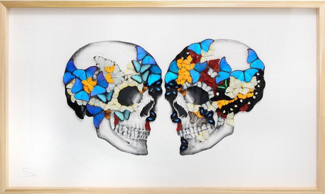 SN, 'Double skull', 2019, Eden Fine Art