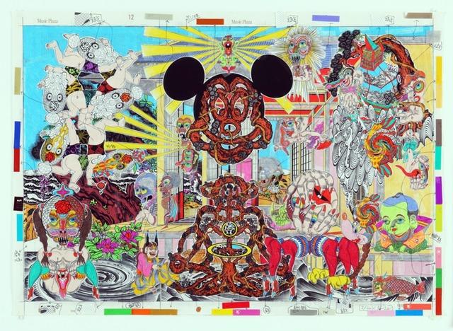 Keiichi Tanaami, 'Mysterious Deliverance', 2010, Japigozzi Collection