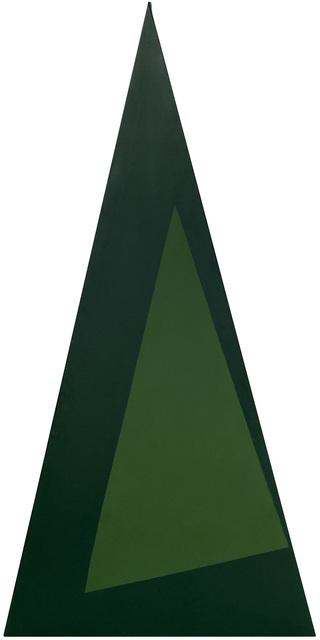 , 'Triangulo verde,' 1989, GALERÍA JOSÉ DE LA MANO