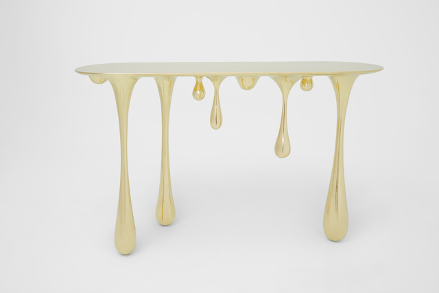 , 'Melting Console Table (Brass),' 2017, Gallery ALL