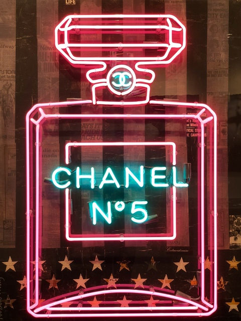 , 'Deep Purple Chanel Bottle,' 2016, Gilles Clement Gallery