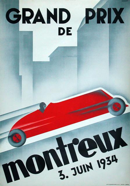 , 'Grand Prix of Montreux 1934,' 1934, Omnibus Gallery