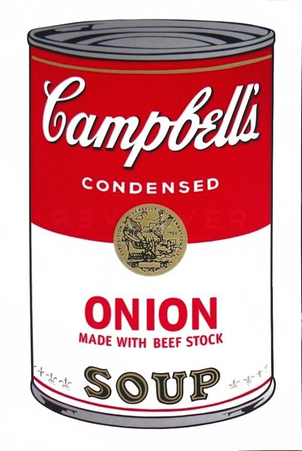Andy Warhol, 'Campbell's Soup: Onion (FS II.47)', 1968, Print, Screenprint on Paper, Revolver Gallery