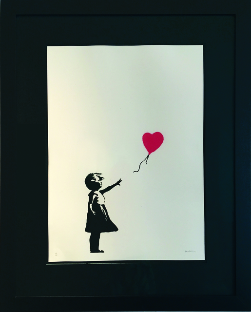 , 'Girl with Balloon signed,' 2004, Galerie Kronsbein
