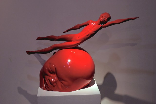 , ' Flying Boy,' 2001, Ode to Art