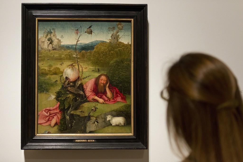"Installation view of ""Bosch. The 5th Centenary Exhibition"" at Museo Nacional del Prado, Madrid (2016) © Museo Nacional del Prado"