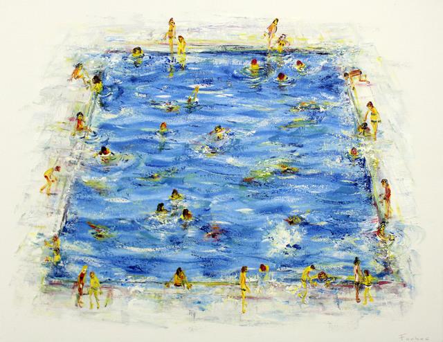 , 'Swimming Pool I,' 2018, Gormleys Fine Art