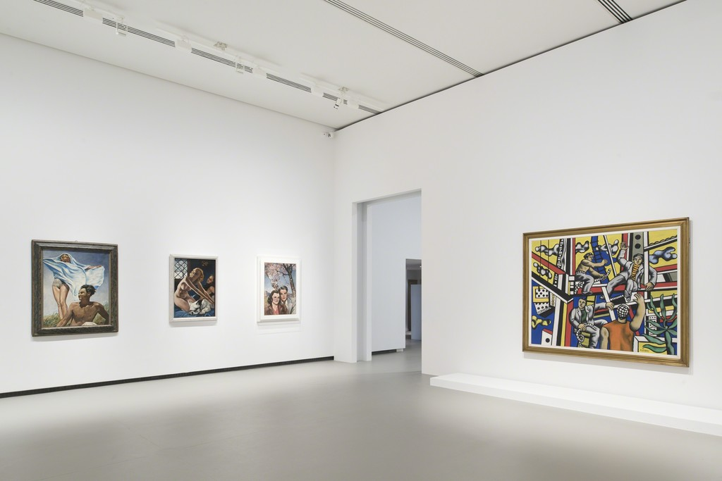 View of Leger and Picabia at Fondation Louis Vuitton, Paris 2015