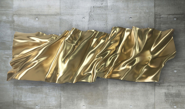 , 'Mantle Series (Gold),' 2018, Madison Gallery