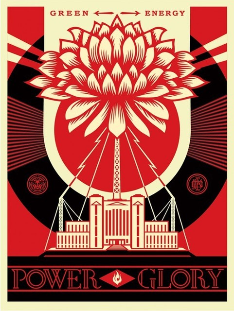 Shepard Fairey, 'Power and Glory', 2014, DIGARD AUCTION
