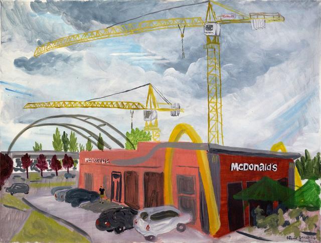 Octavio Garabello, 'McDonalds', 2017, Painting, Acrylic on canvas, LaCa Projects