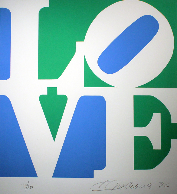 , 'Love, Green and Blue From The Book Of Love,' 1996, Gormleys Fine Art