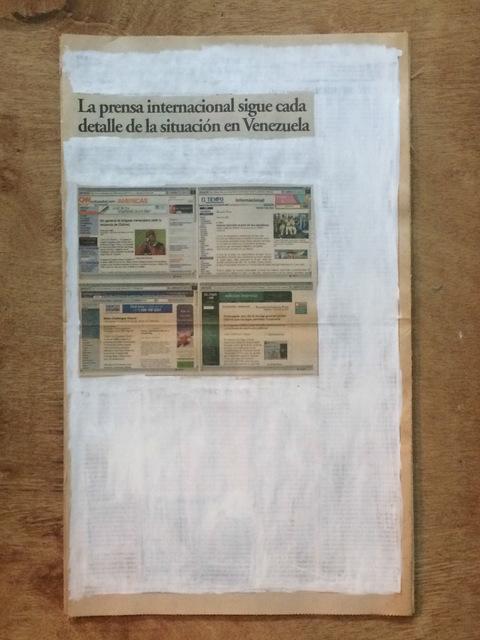 , 'La verdad no es noticia. La prensa internacional sigue cada detalle de la situación en Venezuela,' 2016, Josedelafuente