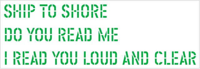 , 'Ship to Shore,' 2004, Galerie Crone