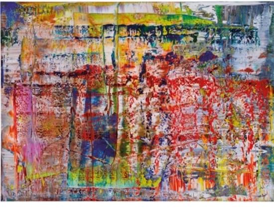 Gerhard Richter, 'Abstraktes Bild (P1)', 2014, Dean Borghi Fine Art