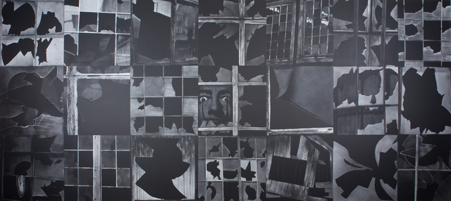 Subhakar Tadi, 'Broken window (Melting Watch)', 2008, Painting, Acrylic on canvas, Museum of Art & Photography