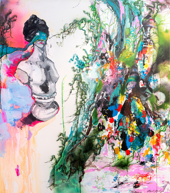 Frank David Valdés, 'Ready-Made', 2020, Painting, Acrilyc on canvas, ArteMorfosis - Cuban Art Platform