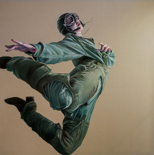 , 'Dance me to the edge of reason ,' 2018, Flinders Lane Gallery
