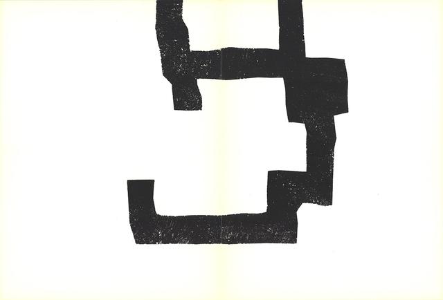 Eduardo Chillida, 'Lines encroaching', 1970, Print, Serigraph, ArtWise