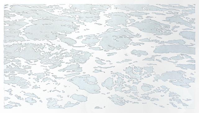 , 'Through VI,' 2015, Pele Prints