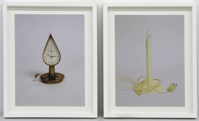 , 'Two Candles (diptych),' 2004, Hosfelt Gallery