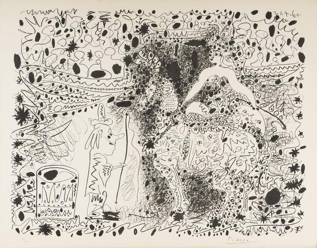 Pablo Picasso, 'L'Écuyère (Bloch 999; Mourlot 333)', 1960, Print, Lithograph, Forum Auctions