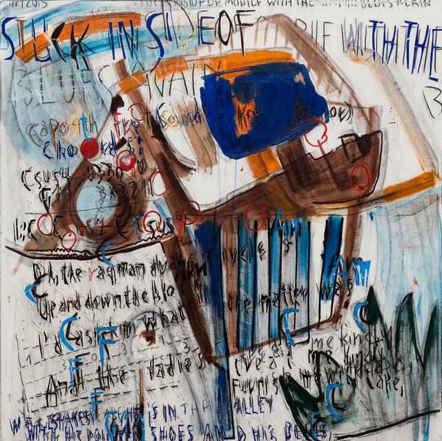 , 'Stuck Inside the Memphis Blues Again (left),' 2015, Derek Eller Gallery
