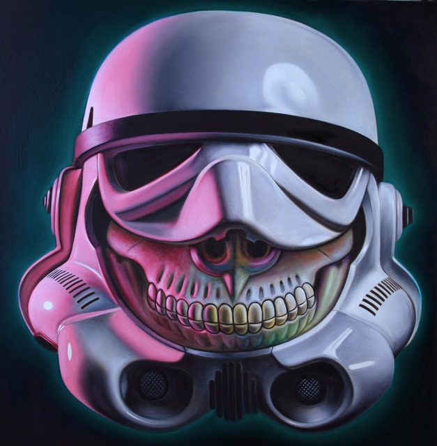, 'Stormtrooper Grin,' 2015, Joseph Gross Gallery