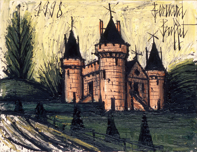 , 'Le Château fort rose,' 1998, Opera Gallery