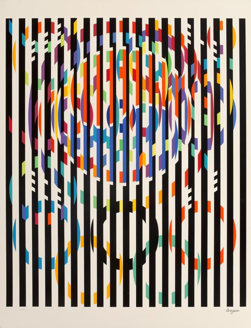 Yaacov Agam, 'Message of Peace, from Official Arts Portfolio of the XXIVth Olympiad, Seoul, Korea', 1988, Heritage Auctions