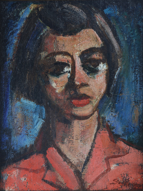 , 'Portrait of a Young Girl,' 1948, Artcommune Gallery