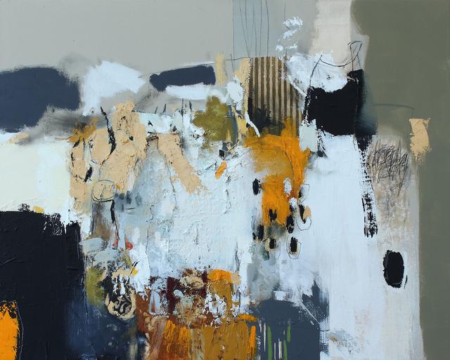 , 'Matières en mouvement 4,' 2017, Galerie de Bellefeuille