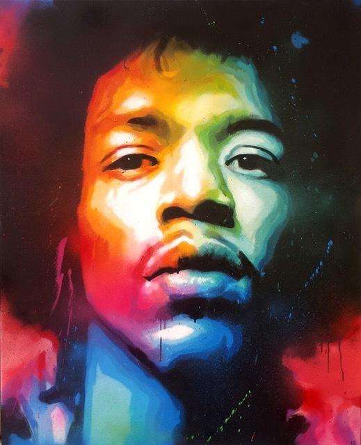 , 'Jimmy Hendrix,' 2017, Galeria Contrast
