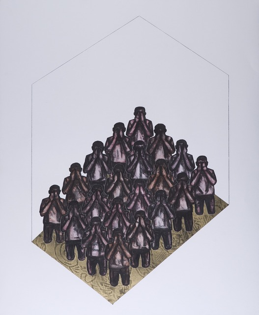 , 'Untitled I (Positions),' 2014, ARTLabAfrica