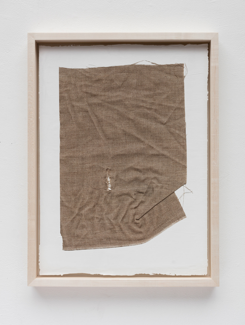 Analia Saban, 'Linen Canvas with Rupture on Acrylic Paint', 2015, The Lapis Press