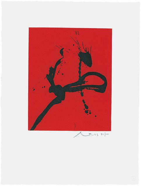 , 'Gesture IV  ,' 1976-1977, Bernard Jacobson Gallery