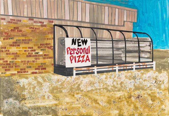 , 'New Personal Pizza,' 2017, Highpoint Editions