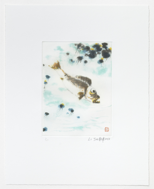 Li Jin 李津, 'No Fish in a Clear Pond', 2012, Print, Aquatint with Spitbite, Dubner Moderne