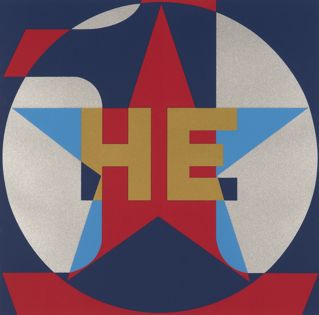 , 'HE,' 2015, Contini Art UK