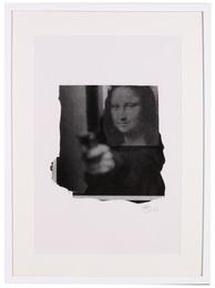 Mona Shot (Black and White)
