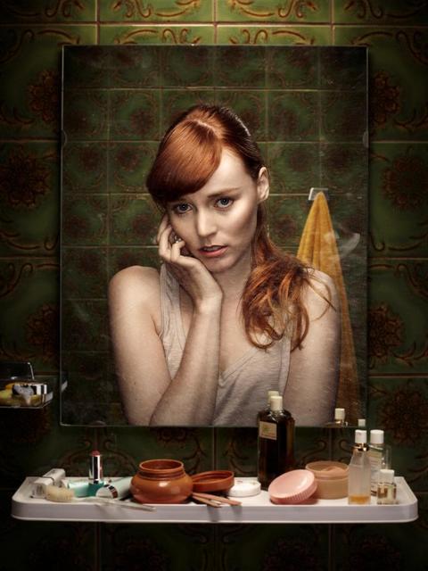 , 'Mirrors - Marieke,' 2010, Amstel Gallery