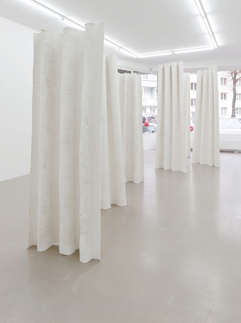 , 'Stehende Vorhänge (Standing curtains),' 2017, Kadel Willborn