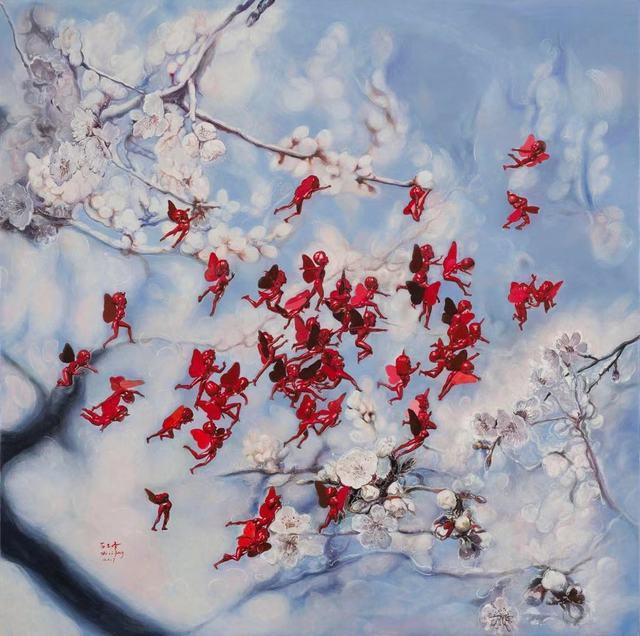 Shi Lifeng, 'Blooming ', 2016, Soemo Fine Arts