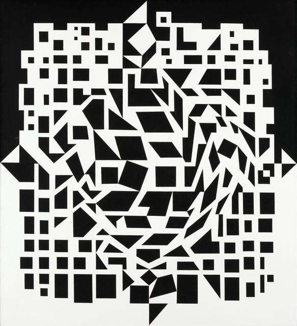 Victor Vasarely, 'Citra', 1955-1959, Louisiana Museum of Modern Art