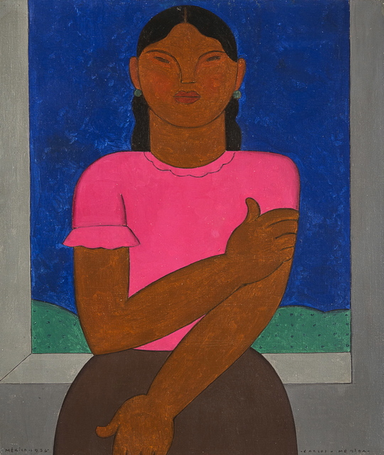 , 'Indigenous Woman,' 1926, Latin American Masters