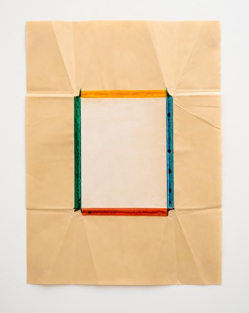 Jeff McMillan, 'Biblio (DF) White', 2019, Christine König Galerie
