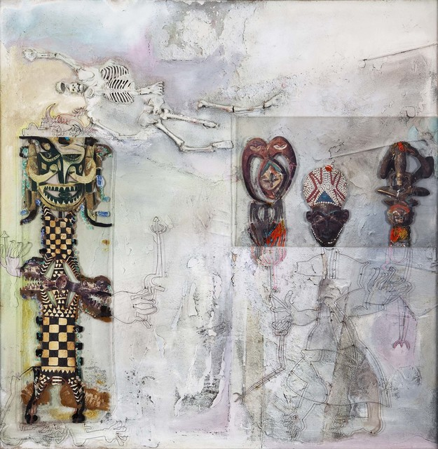 , 'Masked Dance for the Ancestors,' 1994, Jhaveri Contemporary