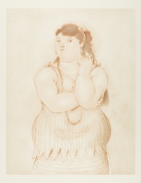 Fernando Botero, 'Mujer Fumando,' 1965, Forum Auctions: Editions and Works on Paper (March 2017)