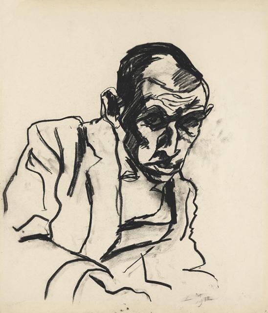 , 'Simon Guttmann,' 1912, Institut Mathildenhöhe Darmstadt