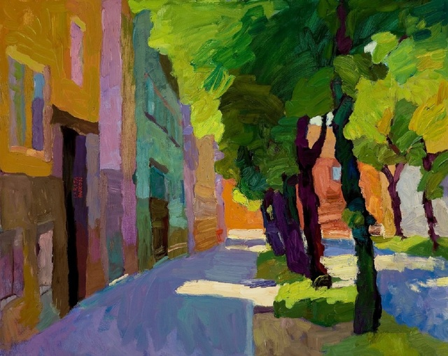, 'Green Street,' , Paul Scott Gallery & galleryrussia.com